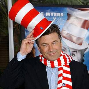 Alec Baldwin Cat in the Hat